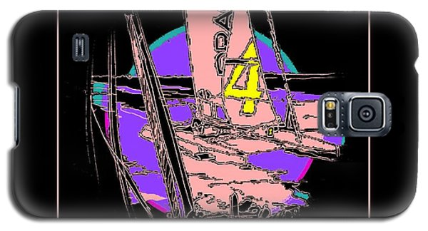 Galaxy S5 Case featuring the mixed media On The Bay 1 by Andrew Drozdowicz