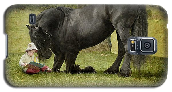 Horse Galaxy S5 Case - Once Upon A Time by Fran J Scott