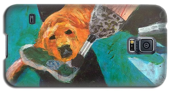Galaxy S5 Case featuring the painting One Team Two Heroes - 1 by Donald J Ryker III