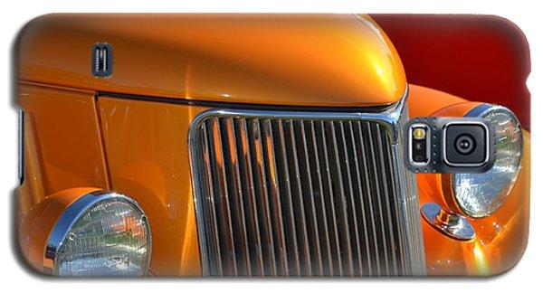 Orange Hotrod Galaxy S5 Case by Dean Ferreira
