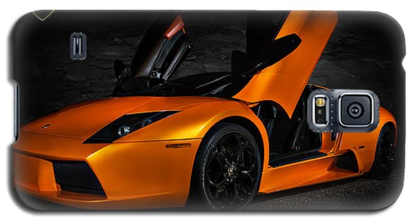Orange Murcielago Galaxy S5 Case by Douglas Pittman