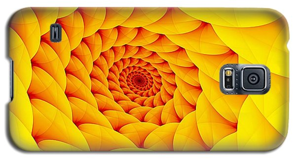 Yellow Pillow Vortex Galaxy S5 Case