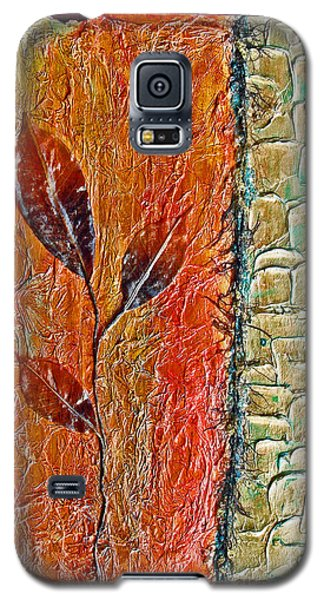 Organic With Leaves Galaxy S5 Case