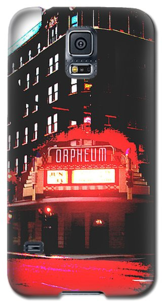 Orpheum Theater  Galaxy S5 Case by Dana Patterson