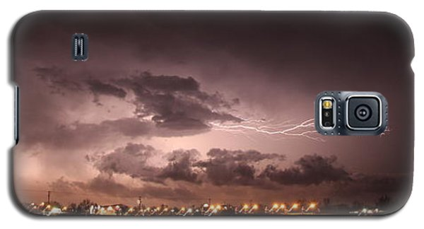 Our 1st Severe Thunderstorms In South Central Nebraska Galaxy S5 Case