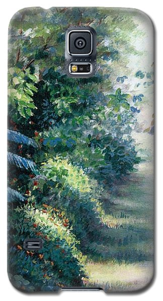 Our Garden Galaxy S5 Case by Laila Awad Jamaleldin