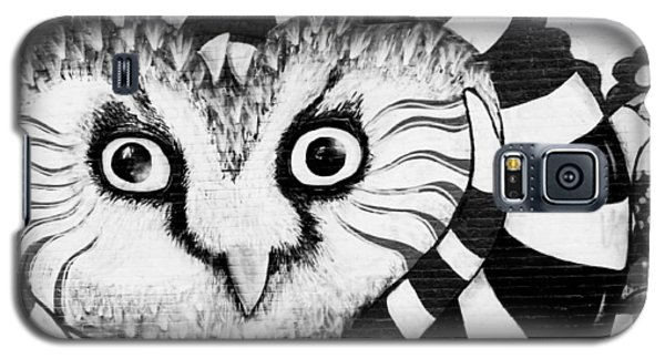 Galaxy S5 Case featuring the photograph Owl Mural by Ricky L Jones
