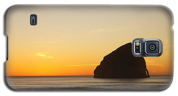 Galaxy S5 Case featuring the photograph Pacific City Sunset by Angi Parks