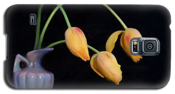 Painted Tulips Galaxy S5 Case