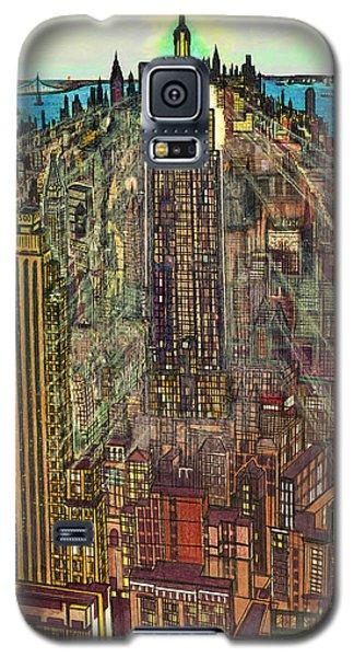 New York Mid Manhattan 1971 Galaxy S5 Case