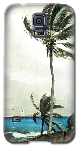 Palm Tree Nassau Galaxy S5 Case