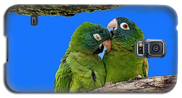 Parakeet Pair Galaxy S5 Case