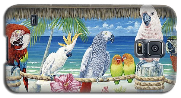 Parrots In Paradise Galaxy S5 Case by Danielle  Perry