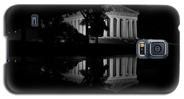 Parthenon Puddle Galaxy S5 Case