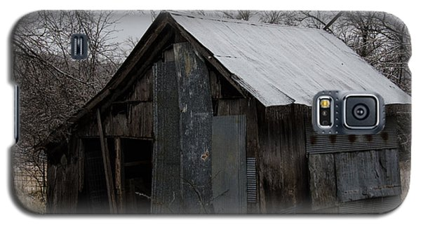 Patchwork Barn With Icicles Galaxy S5 Case