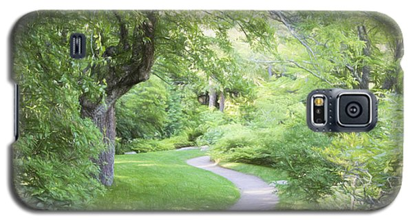 Galaxy S5 Case featuring the photograph Pathway by Gary Smith