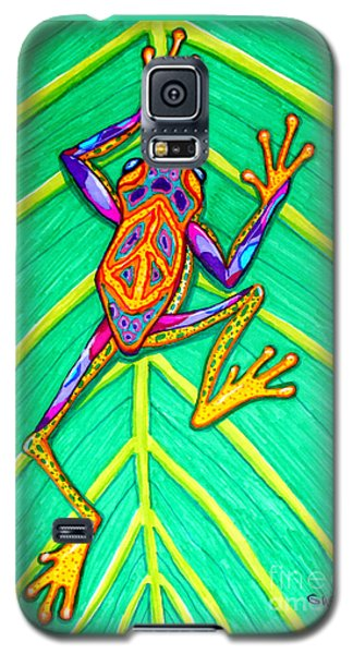 Peace Frog Galaxy S5 Case by Nick Gustafson