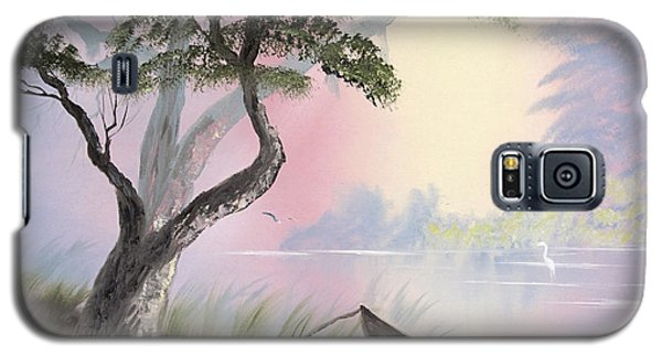 Peaceful Lagoon Galaxy S5 Case