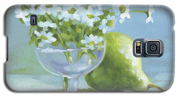 Pear And Daisies Galaxy S5 Case by Natasha Denger