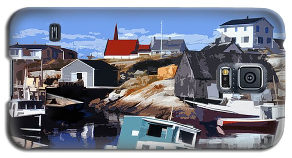 Peggy's Cove Galaxy S5 Case by Lydia Holly