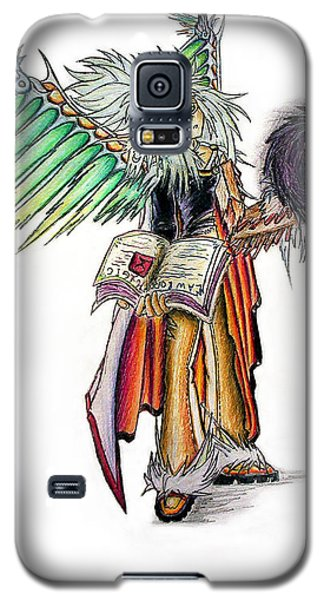 Pelusis God Of Law And Order Galaxy S5 Case