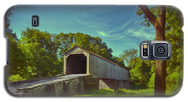 Pennsylvania Covered Bridge Galaxy S5 Case by Phil Abrams