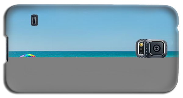 People On The Beach, Venice Beach, Gulf Galaxy S5 Case by Panoramic Images