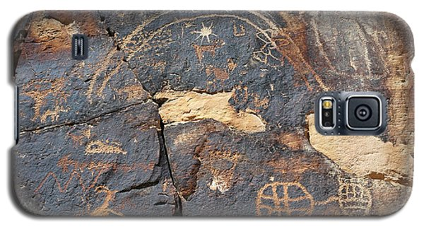547p Petroglyph - Nine Mile Canyon Galaxy S5 Case