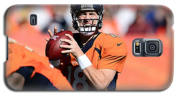 Peyton Manning  Galaxy S5 Case by Marvin Blaine