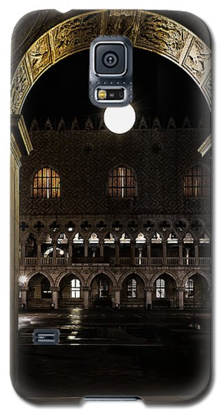 Galaxy S5 Case featuring the photograph Piazza San Marco by Marion Galt