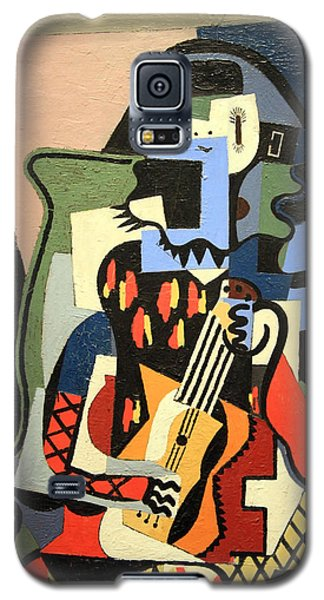 Picasso's Harlequin Musician Galaxy S5 Case