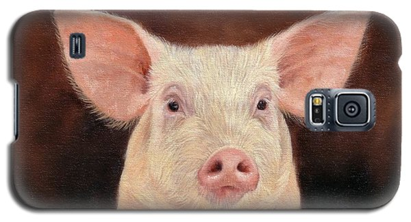 Pig Galaxy S5 Case by David Stribbling