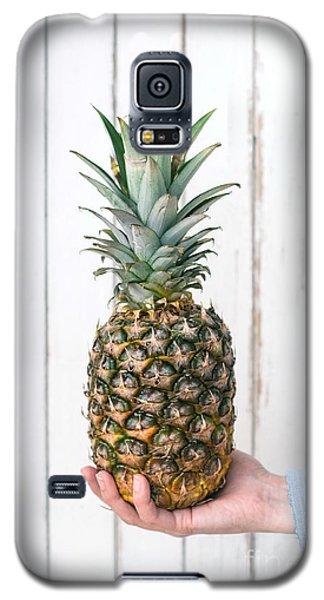 Pineapple Galaxy S5 Case by Viktor Pravdica