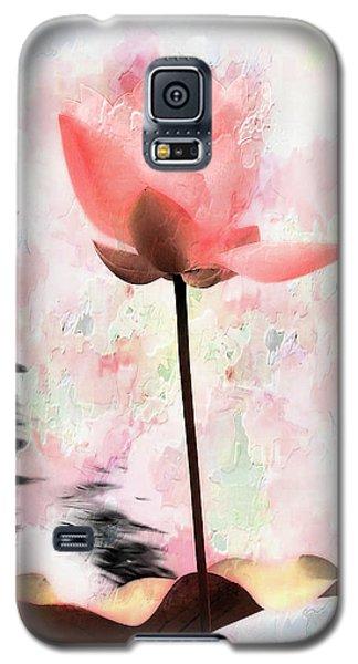 Pink Lotus Galaxy S5 Case