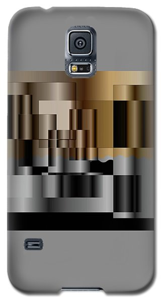 Galaxy S5 Case featuring the digital art Pipes by Iris Gelbart