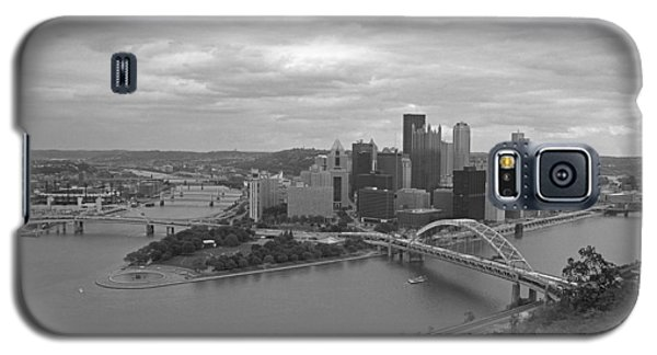 Pittsburgh - View Of The Three Rivers Galaxy S5 Case