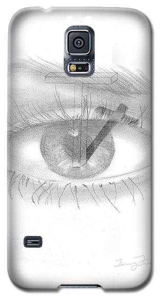 Plank In Eye Galaxy S5 Case