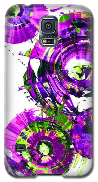 Galaxy S5 Case featuring the digital art Playing In The Wind 1000.042312 - Popart-3 by Kris Haas