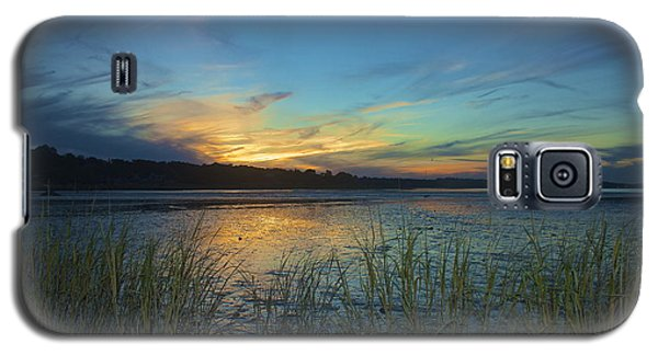 Plymouth Harbor Sunset Galaxy S5 Case