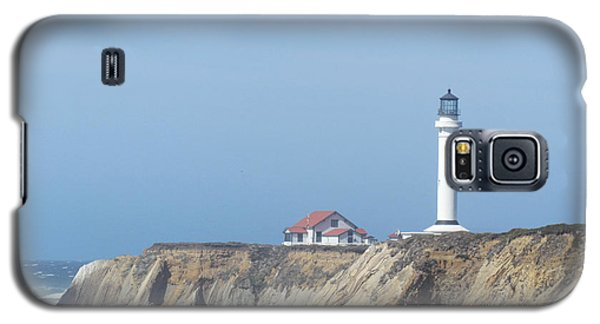 Galaxy S5 Case featuring the photograph Point Arena Lighthouse by Bonnie Muir