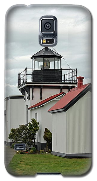 Galaxy S5 Case featuring the photograph Point No Point Lighthouse by E Faithe Lester
