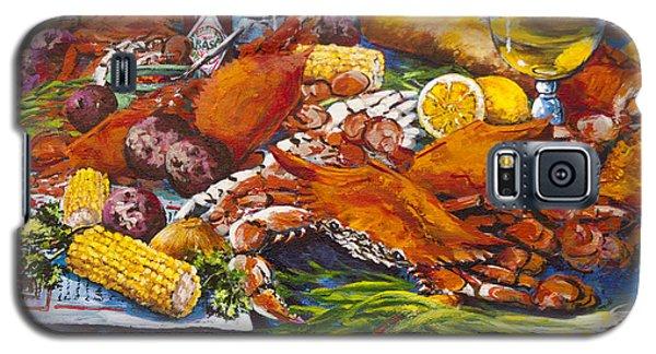 Pontchartrain Crabs Galaxy S5 Case by Dianne Parks