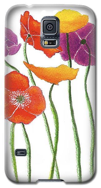 Poppies A Plenty Galaxy S5 Case