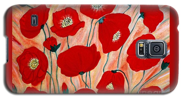 Poppies. Inspirations Collection. Galaxy S5 Case