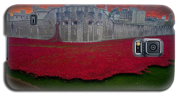 Poppies Tower Of London Galaxy S5 Case