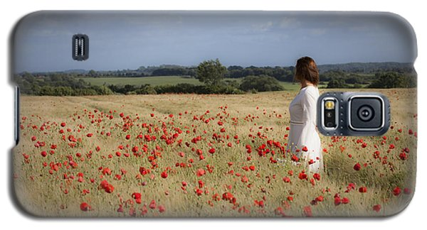 Poppy Field Galaxy S5 Case