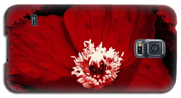 Poppy Galaxy S5 Case by Tiffany Erdman