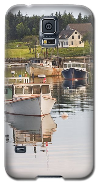 Port Clyde Maine Boats And Harbor Galaxy S5 Case