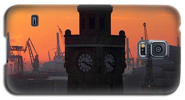 Port Of Hamburg Sunset Galaxy S5 Case
