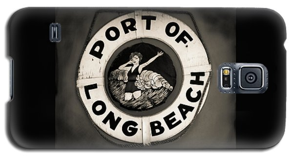 Port Of Long Beach Life Saver Vin By Denise Dube Galaxy S5 Case